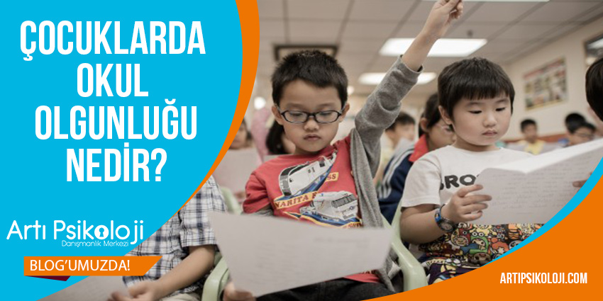 Çocuklarda Okul Olgunluğu Nedir?, Artı Psikoloji