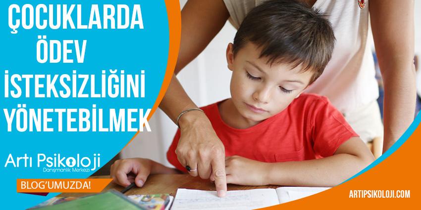 Çocuklarda Ödev İsteksizliğini Yönetebilmek 1